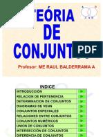 TEORIA DE CONJUNTOS