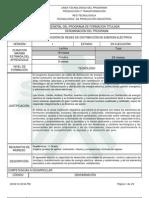 Infome Programa de Formación Titulada