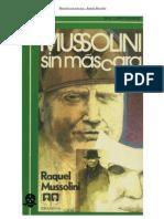 Mussolini sin máscara. Raquel Mussolini (Viuda de Benito Mussolini)