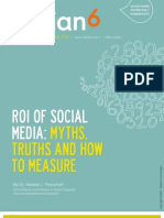 The ROI of Social Media - Myths, Truths and How to Measure