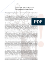 Justícia per les víctimes i pel jutge Garzón