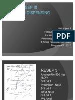 Analisa Resep-1 Kelompok II