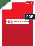 Resoluciones 38 Congreso