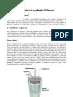 Calorimetro a Ghiaccio Di Bunsen