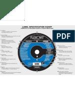 Flexovit Abrasives - Label Specification Chart