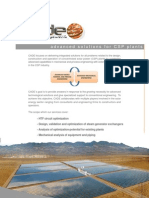 Advanced Solutions for Csp Plants