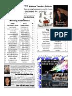 Renatus Bulletin 1.15.12