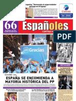 Revista Españoles Nº66 Noviembre 2011