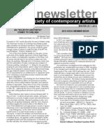 Newsletter 45 WINTER 2011-2012