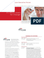 Stryve Executive Forum Agenda - Levers for Change - Feb 2012