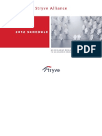 2012 Stryve Alliance Brochure