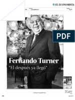 Turner en El Economist A