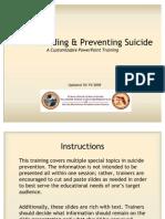 Understanding&PreventingSuicide