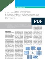 Articulo Polimorfismo Cristalinos Fundamentos y Aplicaciones en Farmacos Www.lifescienceslab
