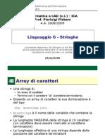 L7a-LinguaggioC-Stringhe