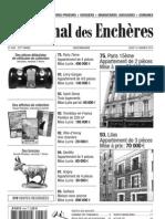 journal des enchères du 16 janvier 2012