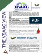 VSAAC December 2011 Newsletter