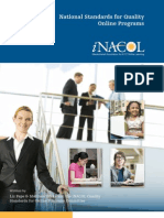 NACOL Standards Quality Online Programs
