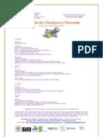 I Jornada de Literatura e Educação - Programação e Informes