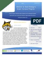 UC Merced Green Campus September Newsletter