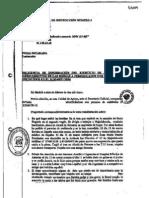 Declaración testigo protegido J70 ante la Oficina de Ayuda a las víctimas