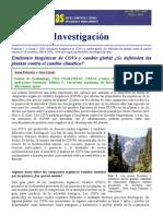 Emisiones Biogenicas y CC