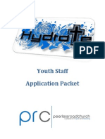 Hydrate Leader Application Packet