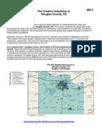 AFA 2011 - The Creative Industries in Douglas County Kansas