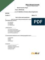 59672170 MT0031 Basics of IT Model Question Paper