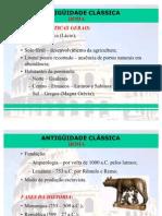 Antiguidade Clássica - Roma