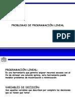 1.2. PROGRAMACIÓN LINEAL