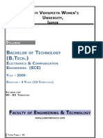 B. Tech (EC) - 2009