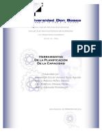 (APO)HERRAMIENTAS DE LA PLANIFICACION DE LA CAPACIDAD