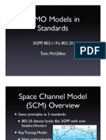 MIMO Models in Standards