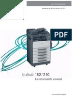 Manual de Uso Bizhub-162-210