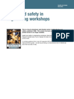 Hse.health and Safety in Engineer In Workshops