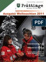 Tuxer Prattinge Ausgabe Weihnachten 2011