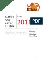 RAC PR Plan