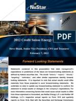 Nu Star en Credit Suisse Energy Summit FINAL