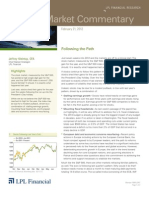 Weekly Market Commentary 02-21-12