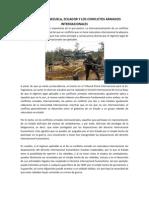 Colombia, Ecuador y Venezuela Conflictos Armados Internacionales