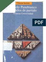Institucionalización Angelo Panebianco