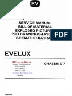 Evelux Gorenje e7 Chassis