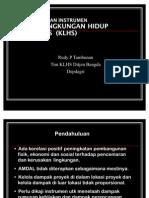 Perkembangan KLHS