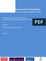 International Homelessness Policy Review