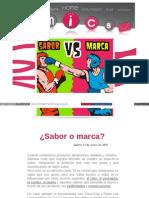 Idearium30 Com Blog Entradas 2012-1-31 Sabor o Marca HTML
