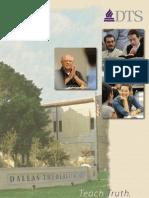 Dallas Theological Seminary 2012-2013 Catalog