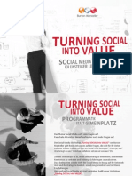 Turning Social into Value