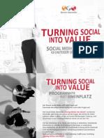 Turning Social into Value