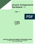 Basic Electronics Components & Hardware-I